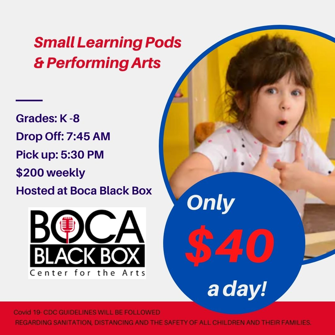 Small Learning Pods and Performing Arts